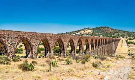 Aqueduct of Padre Tembleque in Mexico