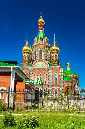 Foto für Cathedral of the Annunciation in Yoshkar-Ola, Russia - Lizenzfreies Bild