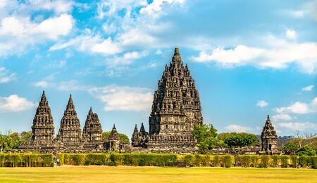 Photo pour Prambanan Temple near Yogyakarta in Indonesia - image libre de droit
