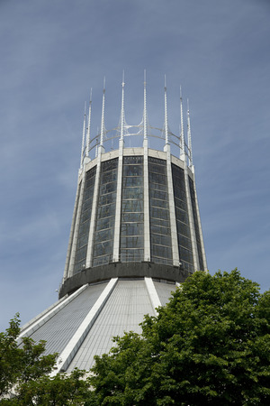 Liverpool, Merseyside, UK, 24th June 2014, the Liverpool Metropolitan Cathedral, Metropolitan Cathedral of Christ the King