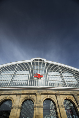 Liverpool, Merseyside, UK, 24th June 2014, Main entrance to Liverpools Lime Street Station