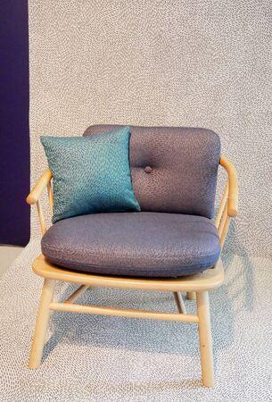 Photo pour the modern design fabric chair - image libre de droit