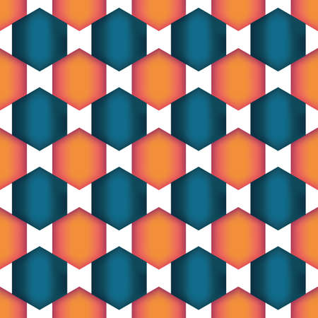 Illustration pour Background Wallpaper of their geometric shapes with a gradient - image libre de droit