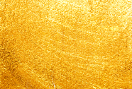 Photo for Golden painted background. Gold paper texture - Royalty Free Image