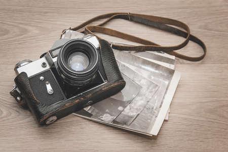 Photo pour Camera retro - image libre de droit