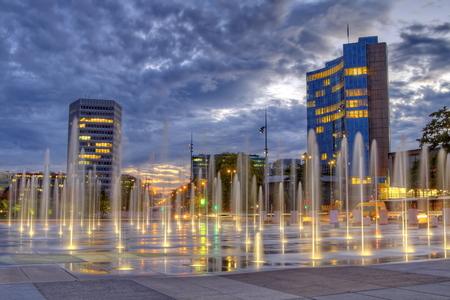 United-Nations place, Geneva, Switzerland, HDR