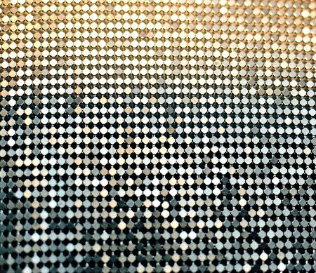 Photo pour abstract luminous blurred goldy and silvery background - image libre de droit
