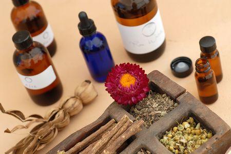 The holistic ingredients of Ayurveda and Herbalism.