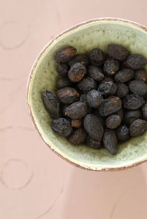 Whole Saw Palmetto seeds used in herbalism for men's health