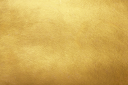 Foto per Gold background. Rough golden texture. Luxurious gold paper template for your design. - Immagine Royalty Free