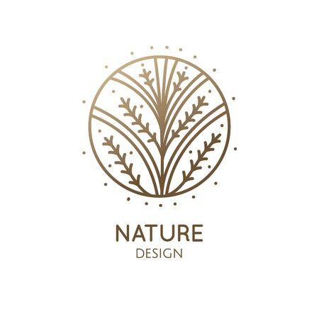 Illustration pour Tropical decorative plant - image libre de droit