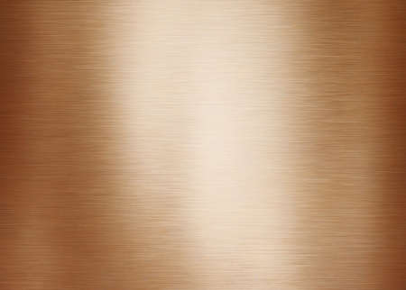 Photo pour Gold or brass brushed metal background or texture - image libre de droit