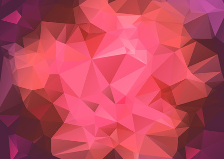 Polygonal mosaic background. Low poly style vector illustrationの素材 [FY31045946730]