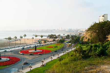 Waterfront of Barranco, Lima, Peru