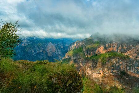 Photo pour Canyon del Sumidero National Park. Chiapas, Mexico. - image libre de droit