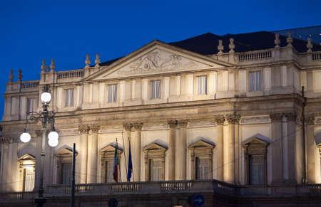 Milano, Teatro alla Scala -Night Shot
