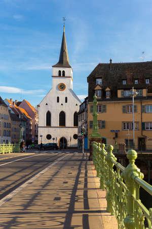 St Guillaume Strasbourg Alsace France