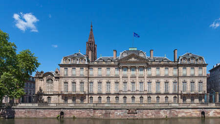 Rohan Palace in Strasbourg, Alsace, France.