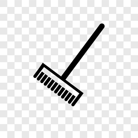 Broom cleanin vector icon isolated on transparent background, Broom cleanin transparency logo concept