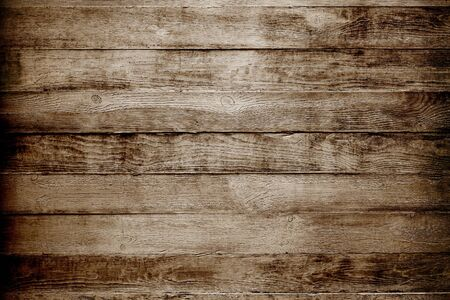 Photo for Natural wooden texture background. Brown planks - Royalty Free Image