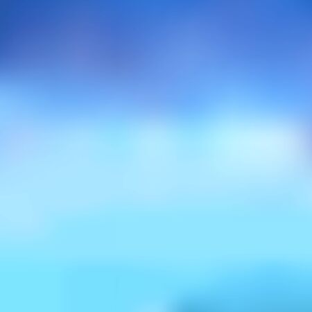 Illustration pour Abstract blurred background in blue tones. Excellent as a background for the production of any printed product, advertising, or other design. - image libre de droit