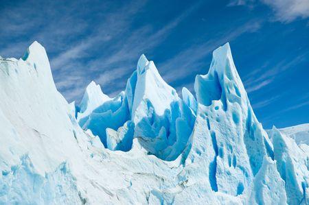 Ice texture in Perito Moreno glacier, patagonia argentina.