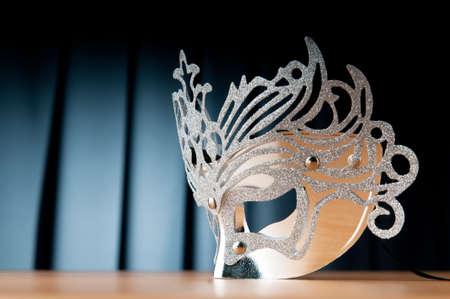 Photo pour Masks with theatre concept - image libre de droit
