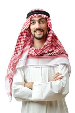 Photo pour Diversity concept with young arab - image libre de droit