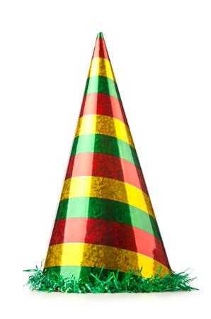 Foto de Party hat isolated on the white - Imagen libre de derechos
