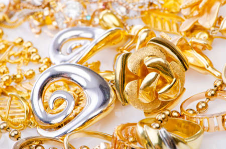Large collection of gold jewellery