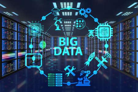 Foto de Big data computing concept of modern IT technology - Imagen libre de derechos