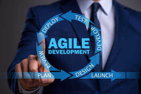 Photo for Concept of agile software development - Royalty Free Image