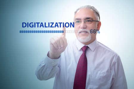 Foto de Digital transformation and digitalization concept - Imagen libre de derechos