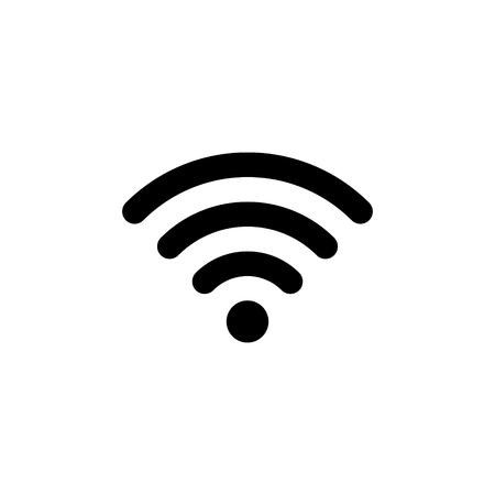 Foto per Wifi connection signal vector icon - Immagine Royalty Free
