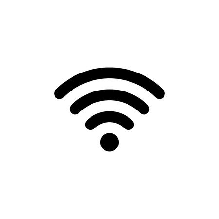 Illustration pour Wifi connection signal vector icon - image libre de droit