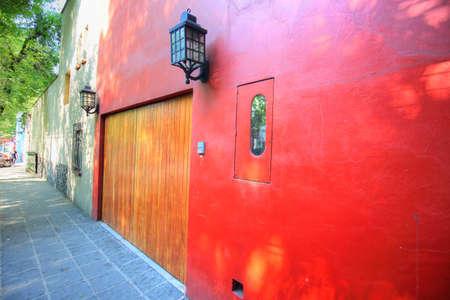 Photo pour Beautiful Coyoacan Streets - image libre de droit