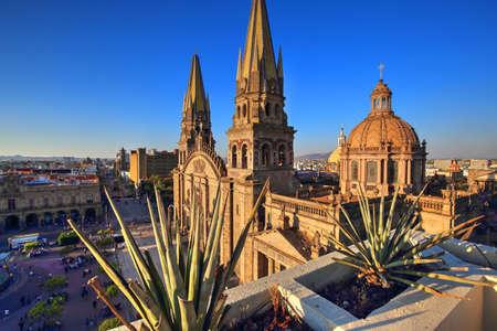 Foto de Guadalajara Cathedral (Cathedral of the Assumption of Our Lady), Mexico - Imagen libre de derechos
