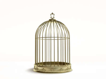Photo for  bird cage 3d - Royalty Free Image