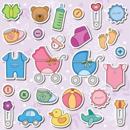 Baby Accessories Clip Art