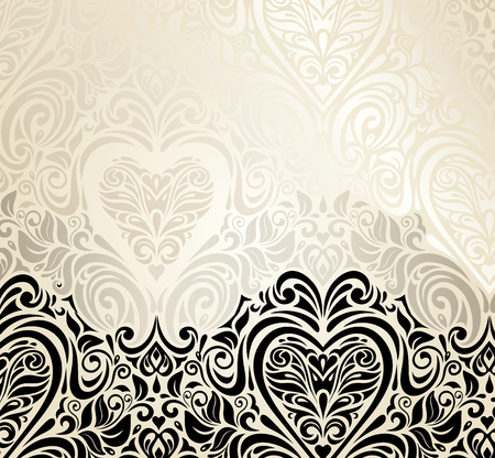 Foto de Fashionable decorative vintage valentine - Imagen libre de derechos