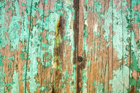 Photo pour vintage texture background of old weathered wood planks painted with color - image libre de droit