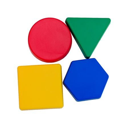 Colourful geometric shapes