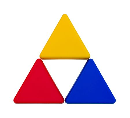 Colourful isolated triangles