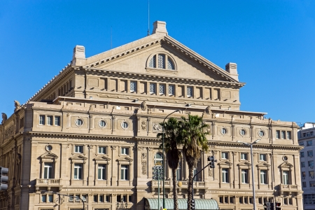 The Teatro Colon in Buenos Aires