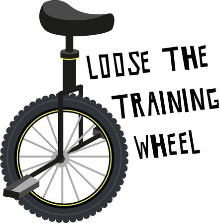 A unicycle is not only fun it develops your balance and offers a great workout.