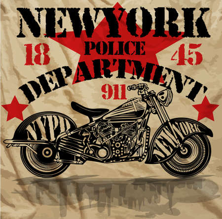 NYPD Motorcyle