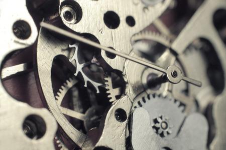 Photo pour Watch mechanism macro - image libre de droit