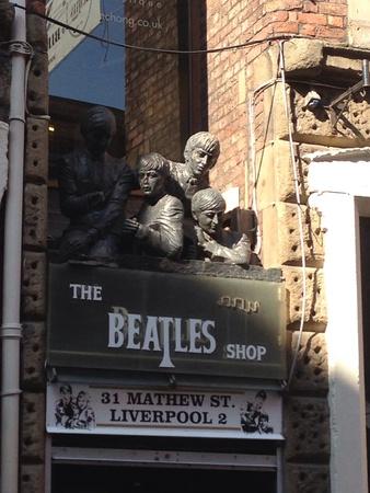 Beatles on Matthew street