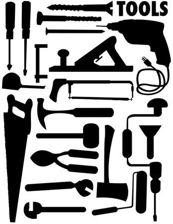 vector collection of tools