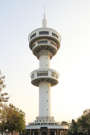 Tower in Supanburi Thailand